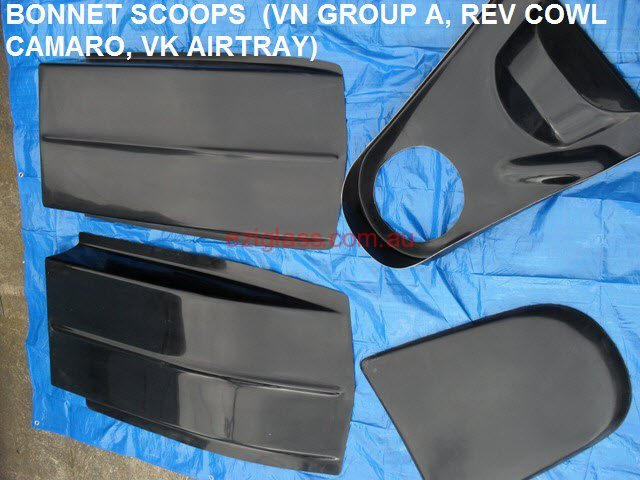 fibreglass-bonnet-scoops-vn-groupa-camaro-rev-cowl-vk-airtray